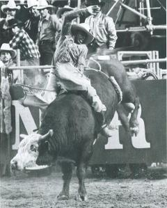 Charles Sampson, National Finals Rodeo, 1982. Champion.