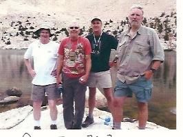 PCT crew, Chicken Spring Lake, July 12, 1972