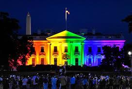 whitehouserainbow