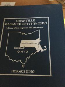 granville book