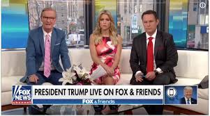 Trump live on Fox and Friends 2