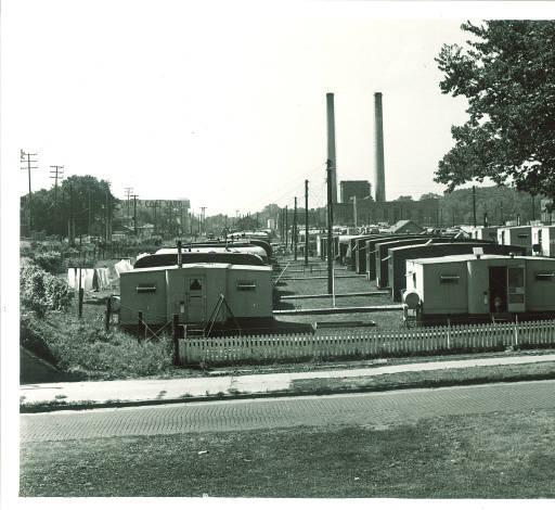 Hawkeye Village, Iowa City, 1947