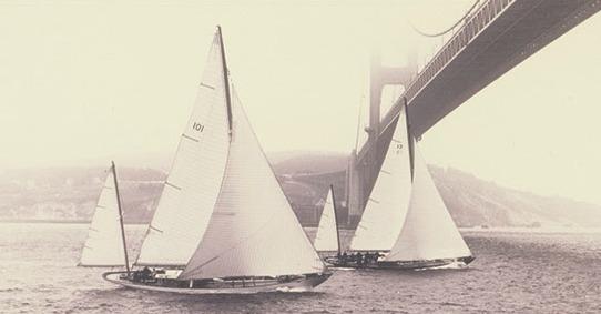 Baruna and Bolero, St. Francis Yacht Club photo