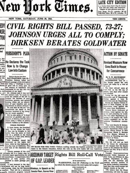 NYT Juneteenth 1964